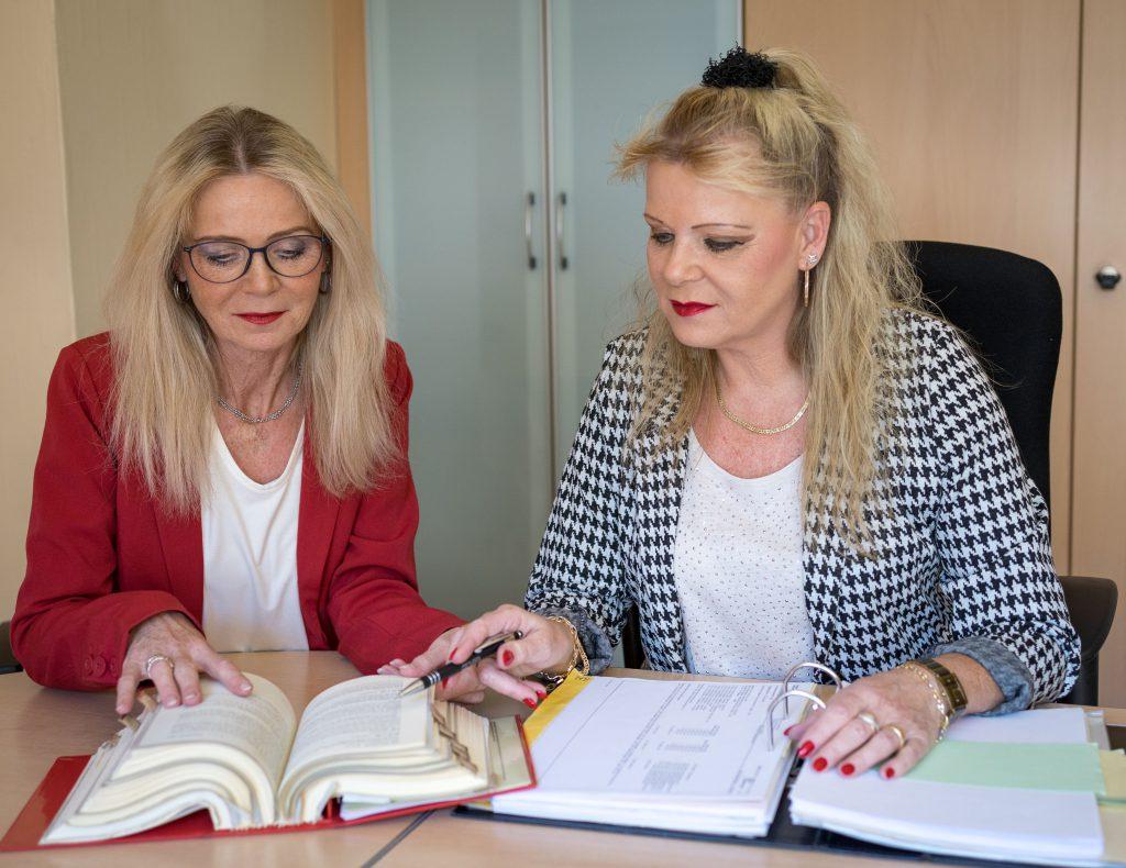 Annette und Birgit Speitel